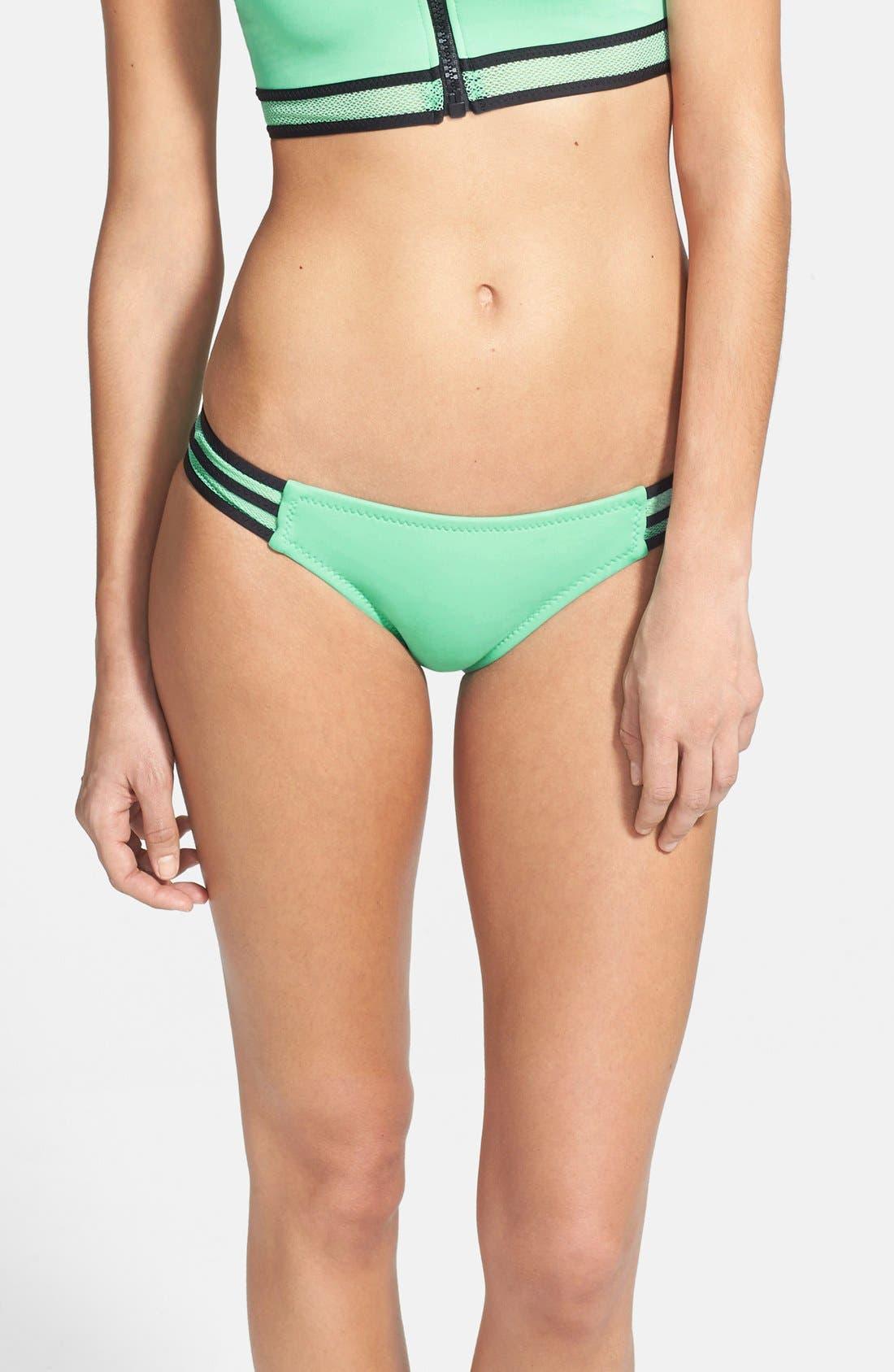 Alternate Image 1 Selected - Becca 'Mesh Tech' Bikini Bottoms
