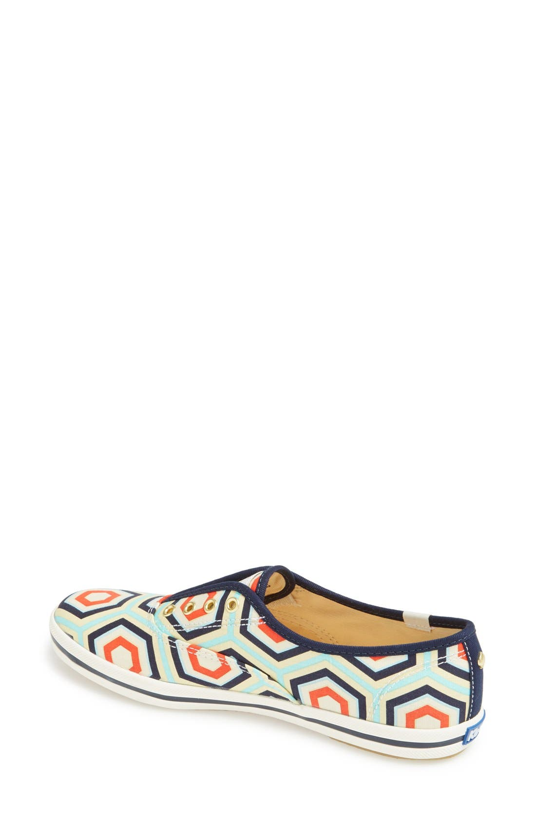 Alternate Image 2  - Keds® for kate spade new york 'champ' print canvas sneaker