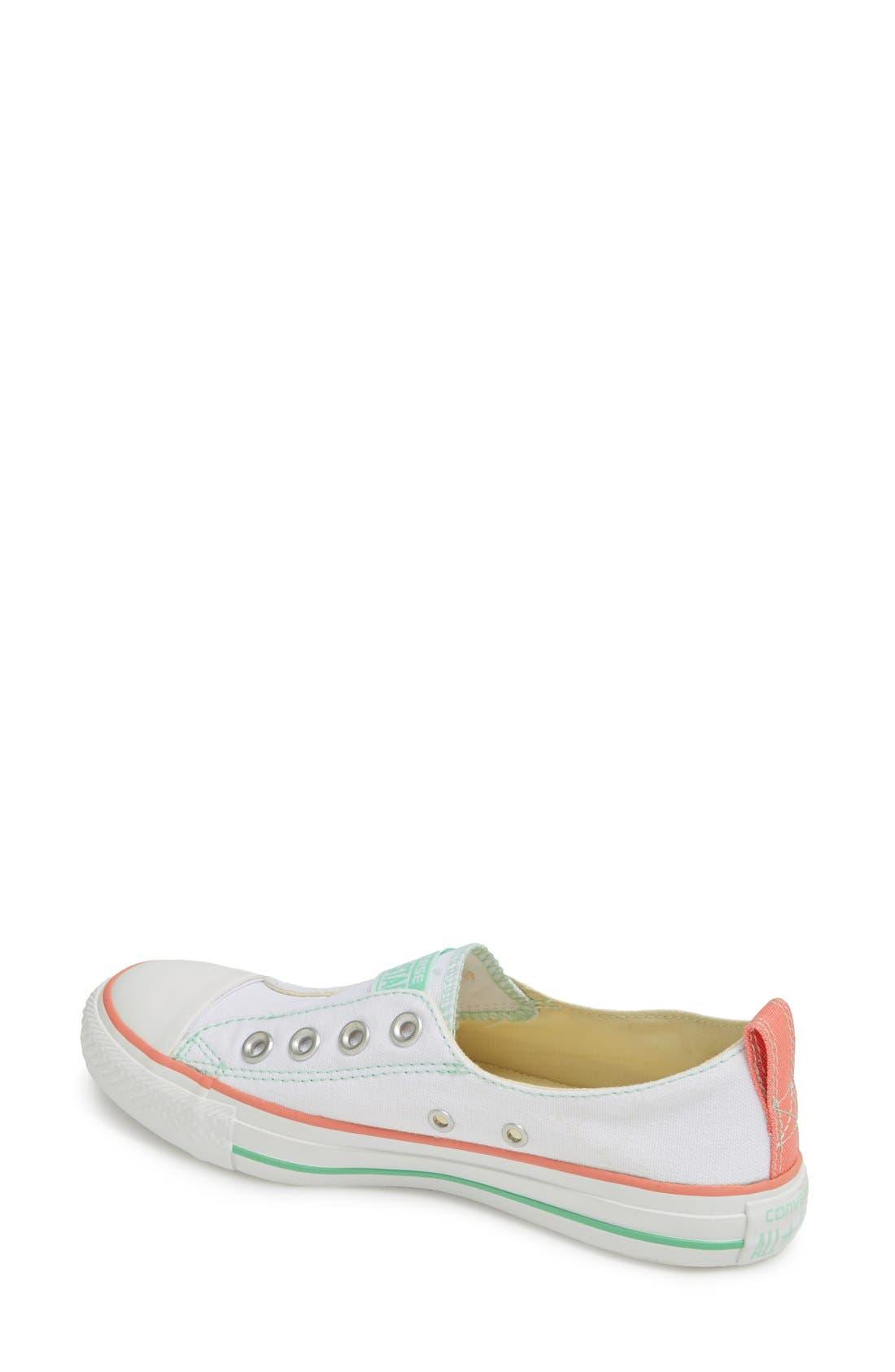 Alternate Image 2  - Converse Chuck Taylor® All Star® Laceless Slip-On Sneaker (Women)