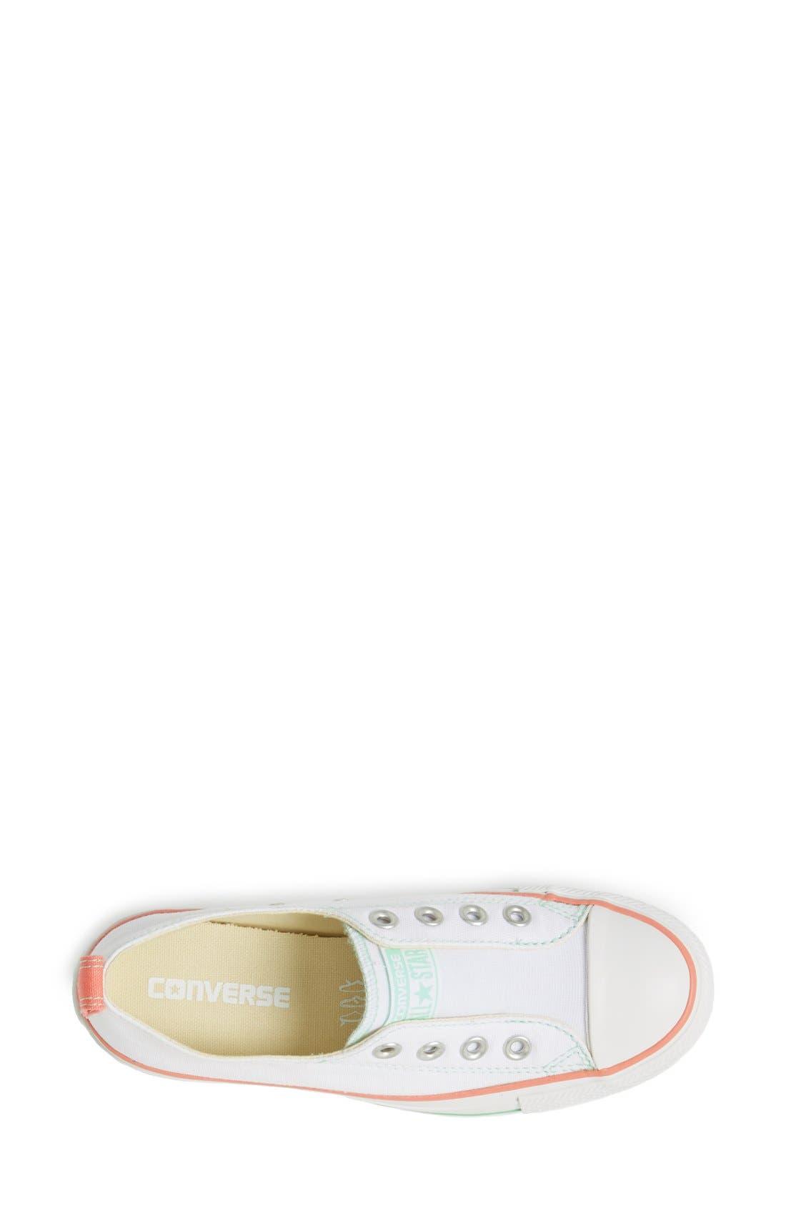 Alternate Image 3  - Converse Chuck Taylor® All Star® Laceless Slip-On Sneaker (Women)