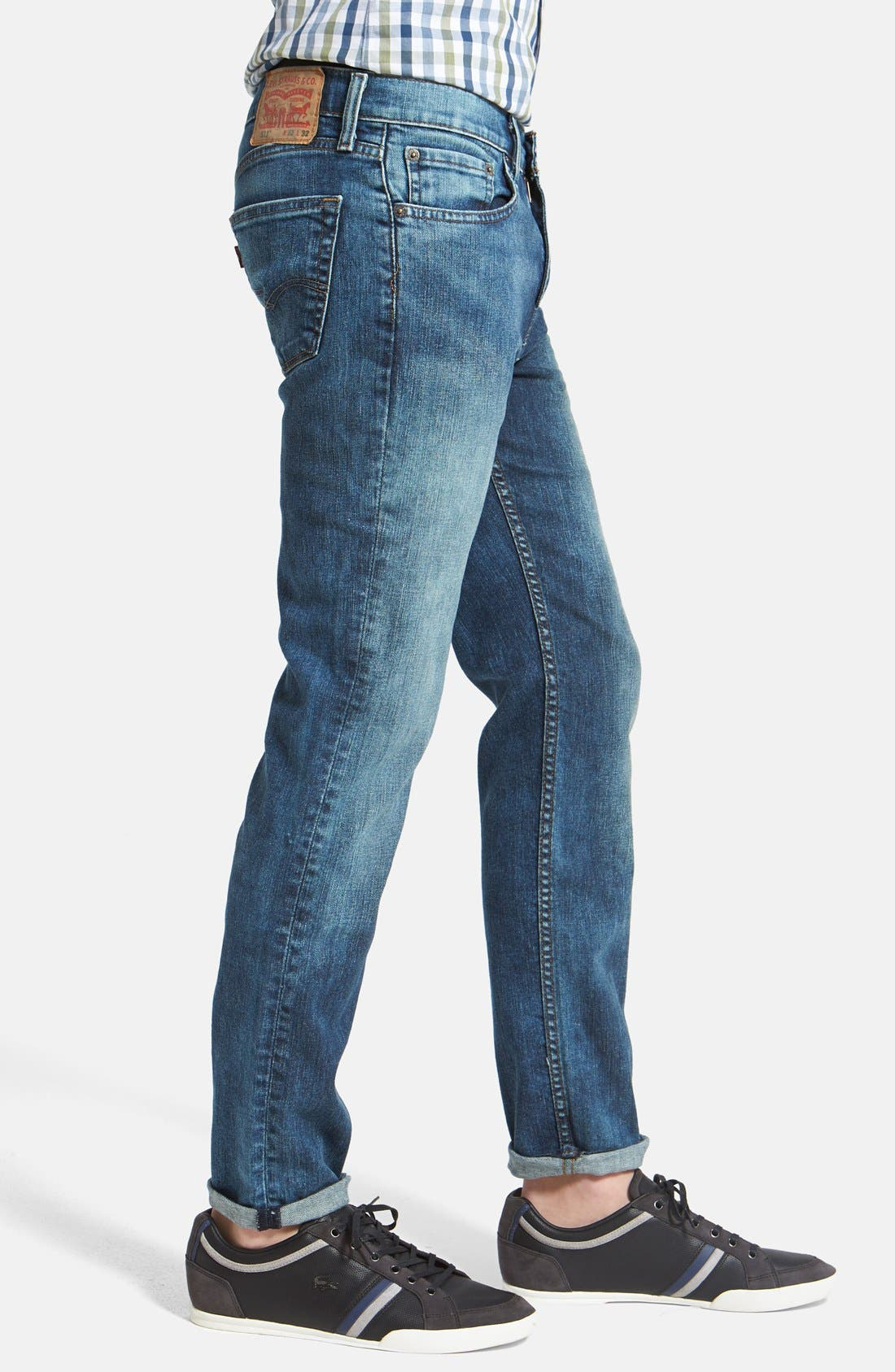 Alternate Image 3  - Levi's® '511™' Slim Fit Jeans (Blue Foam)