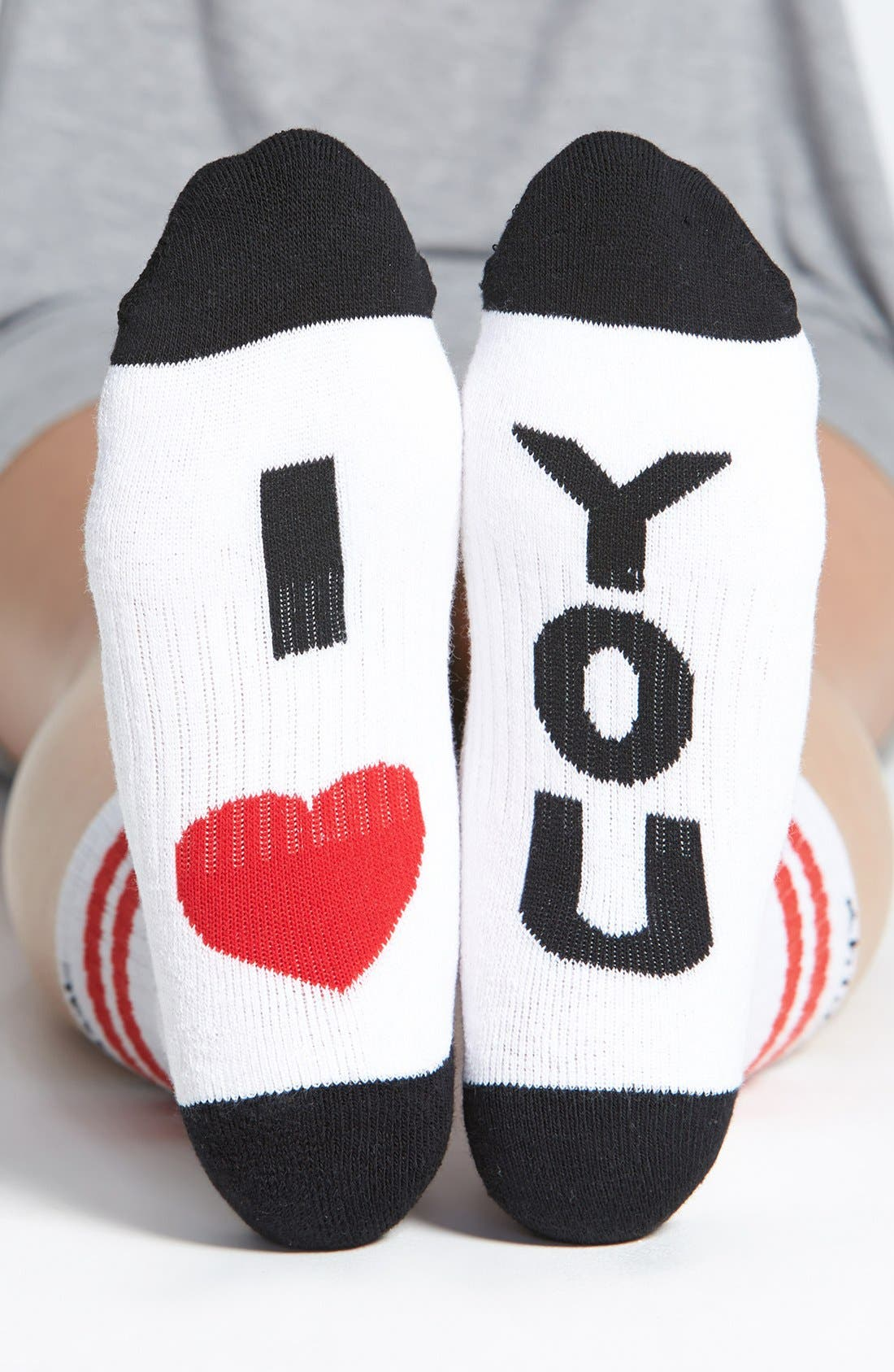 Alternate Image 1 Selected - Arthur George by R. Kardashian 'I Love You' Socks