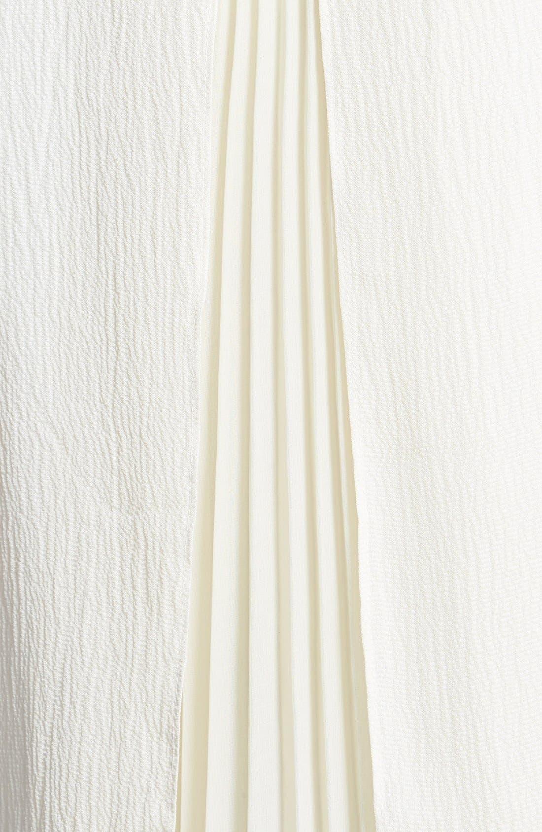 Alternate Image 3  - Rebecca Taylor 'Ham' Pleated Insert Silk Tee