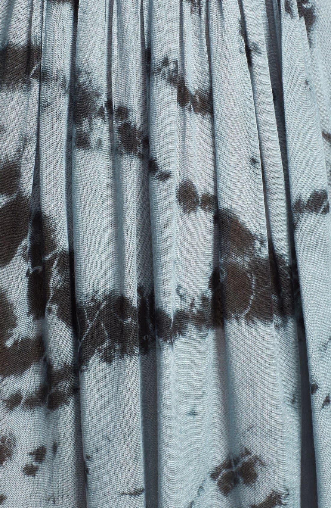 Alternate Image 3  - Surf Gypsy Tie Dye Strappy Smocked Tube Dress