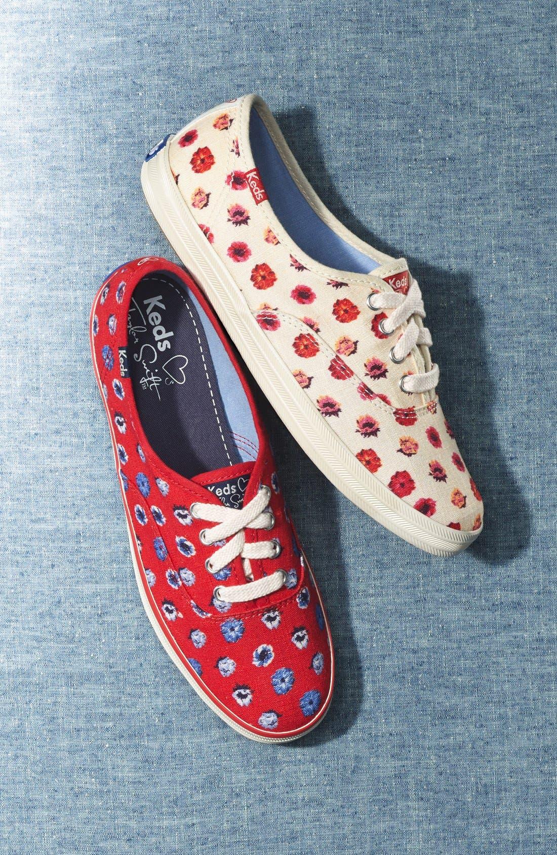 Alternate Image 2  - Keds® Taylor Swift 'Floral Dot' Sneaker (Women) (Nordstrom Exclusive)