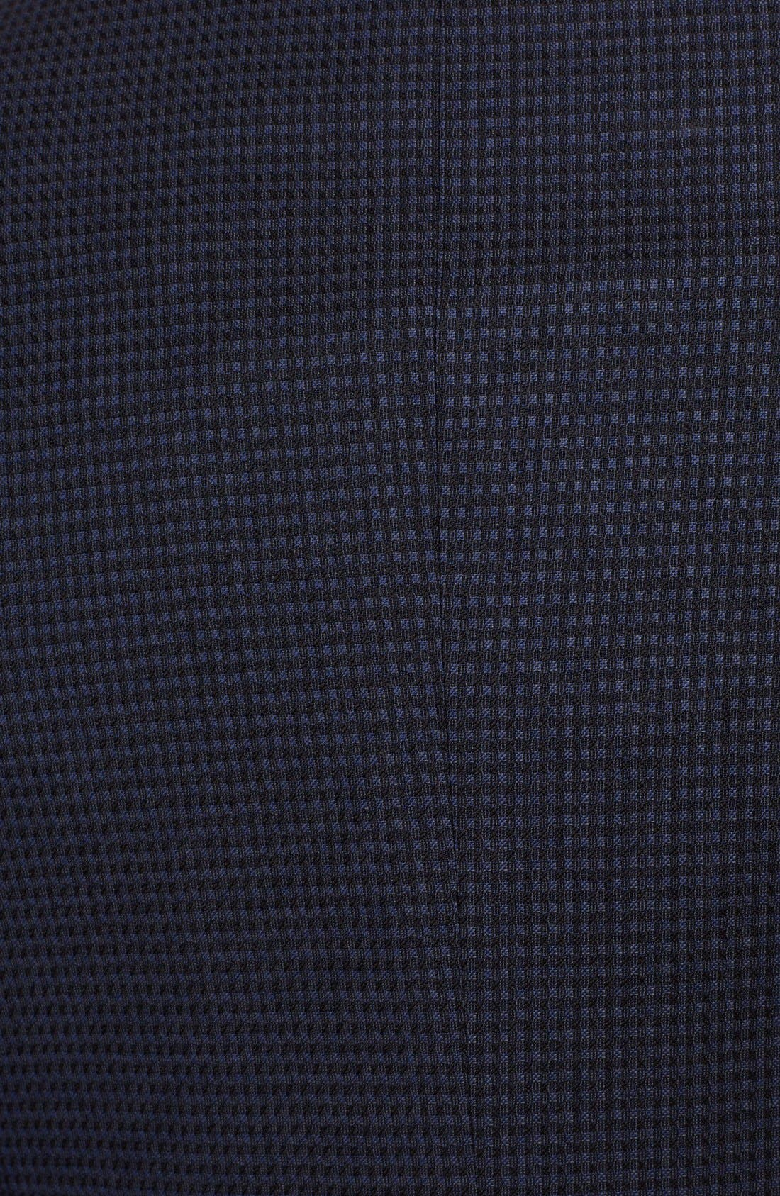 Alternate Image 3  - Armani Collezioni 'Giorgio' Navy Check Virgin Wool Sport Coat