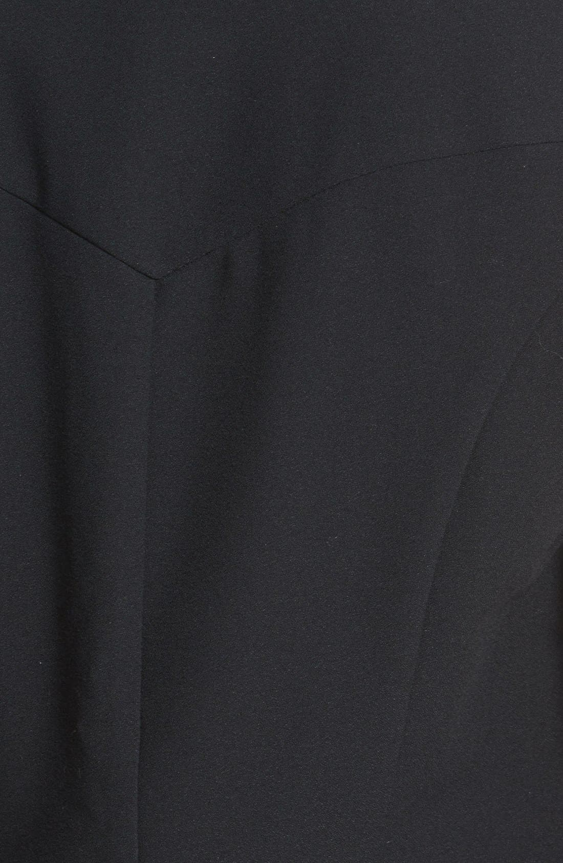 Alternate Image 3  - Bellatrix Drape Front Crepe Vest (Regular & Petite)