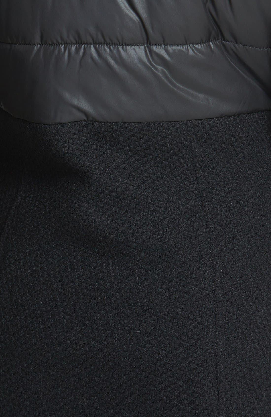 Alternate Image 3  - BCBGeneration Quilt Detail Coat