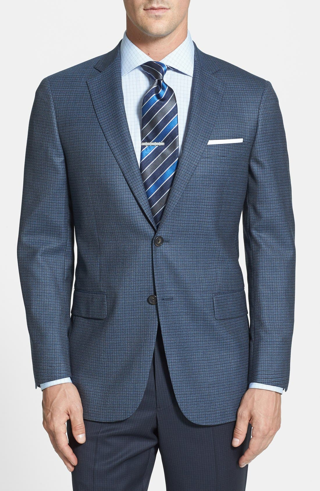 Alternate Image 1 Selected - Hart Schaffner Marx 'New York' Classic Fit Check Sport Coat
