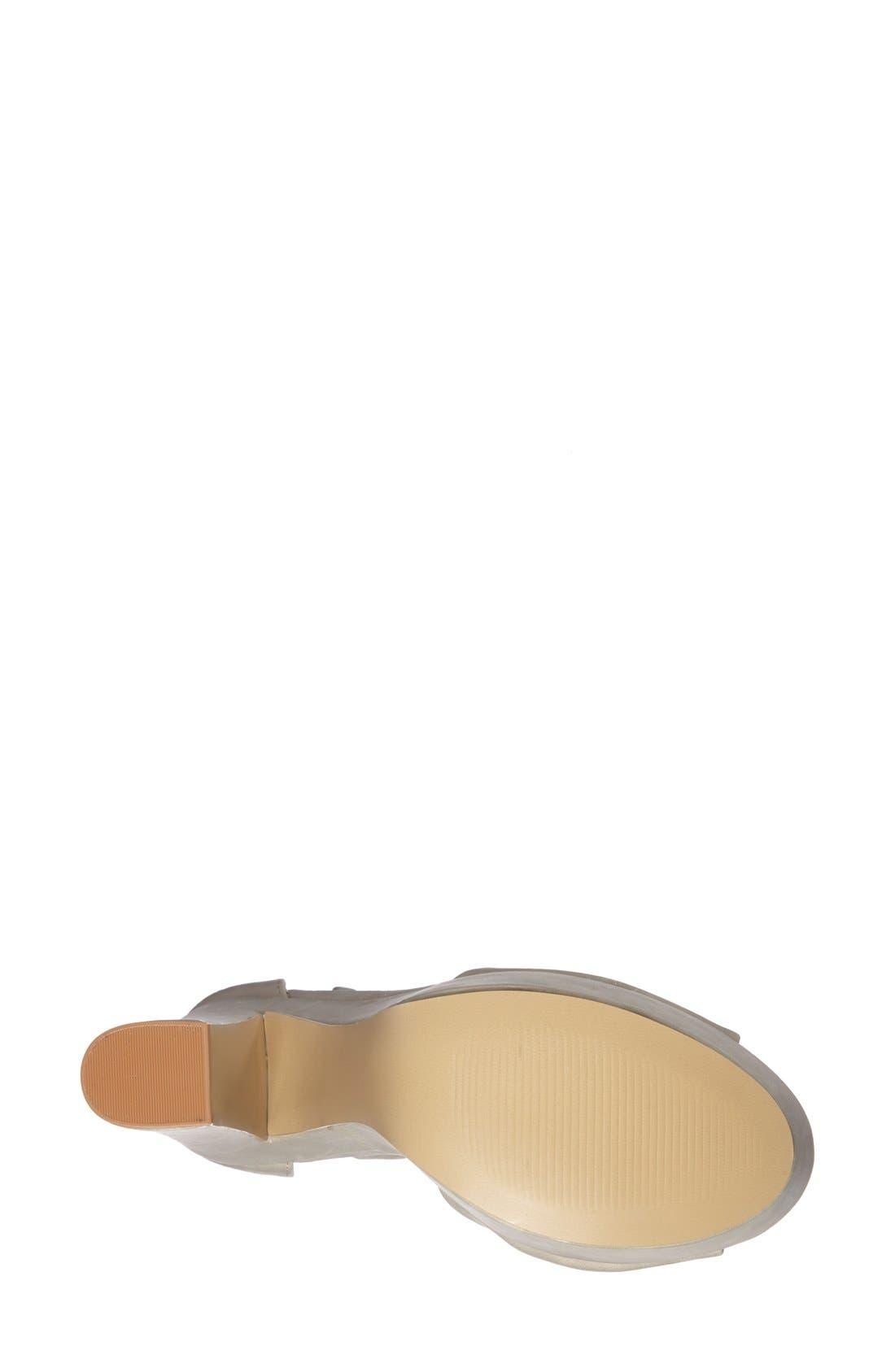 Alternate Image 4  - Steve Madden 'Whitman' Ankle Strap Platform Sandal