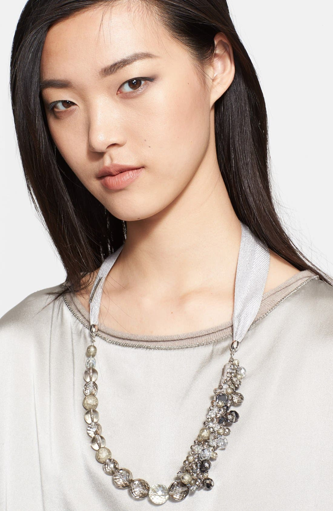 Main Image - Fabiana Filippi Beaded Cluster Necklace
