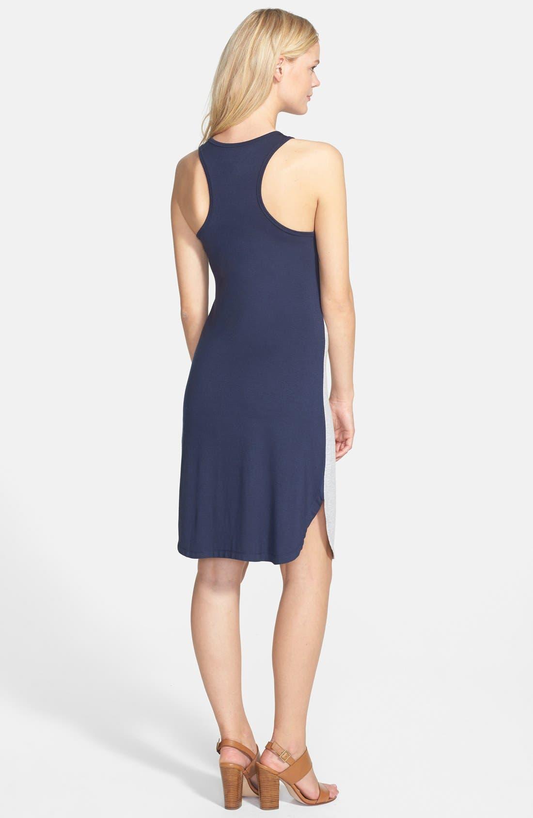 Alternate Image 2  - Caslon® Colorblock Tank Dress (Regular & Petite)