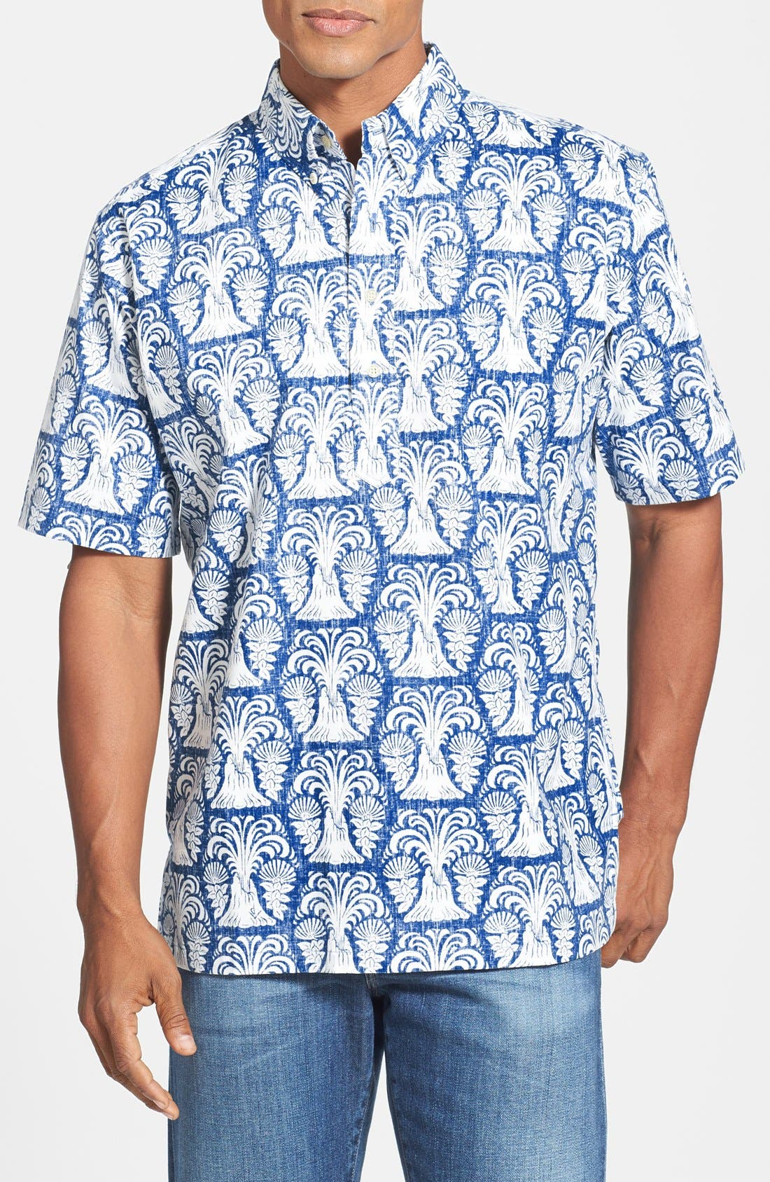 Alternate Image 1 Selected - Reyn Spooner 'Volcano' Classic Fit Sport Shirt