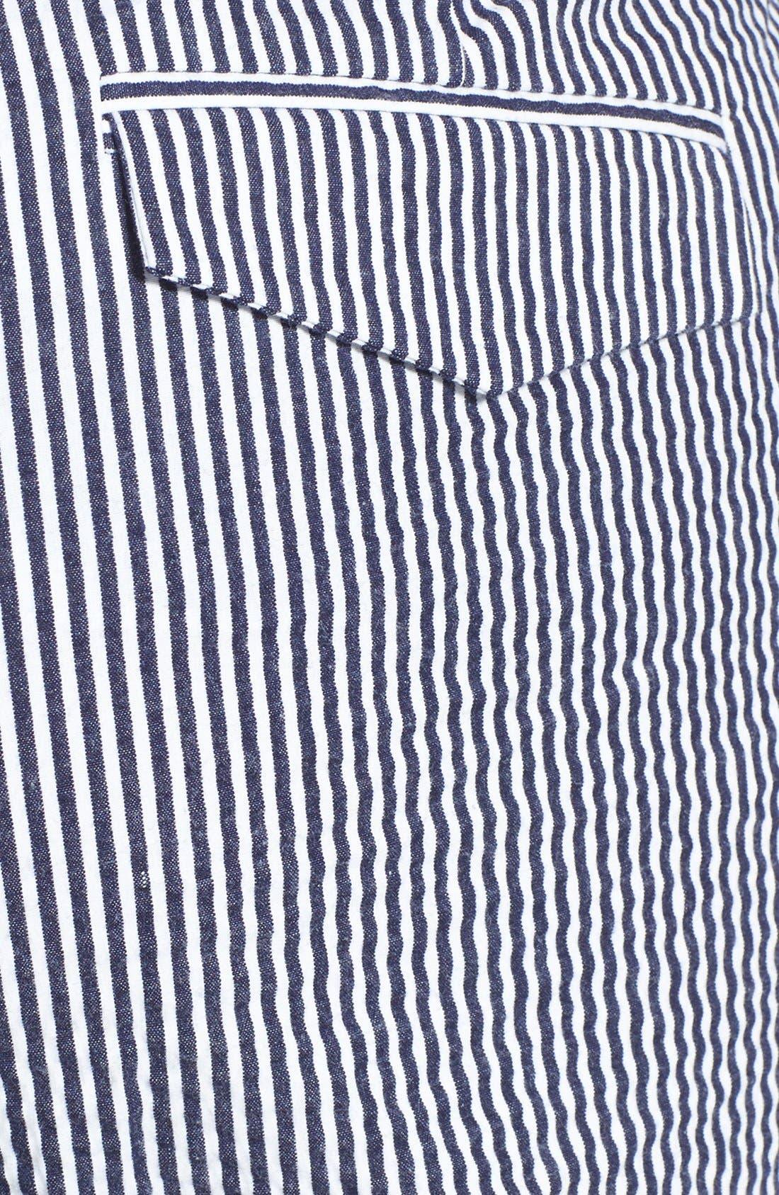 Alternate Image 3  - Anne Klein Seersucker Capri Pants (Plus Size)