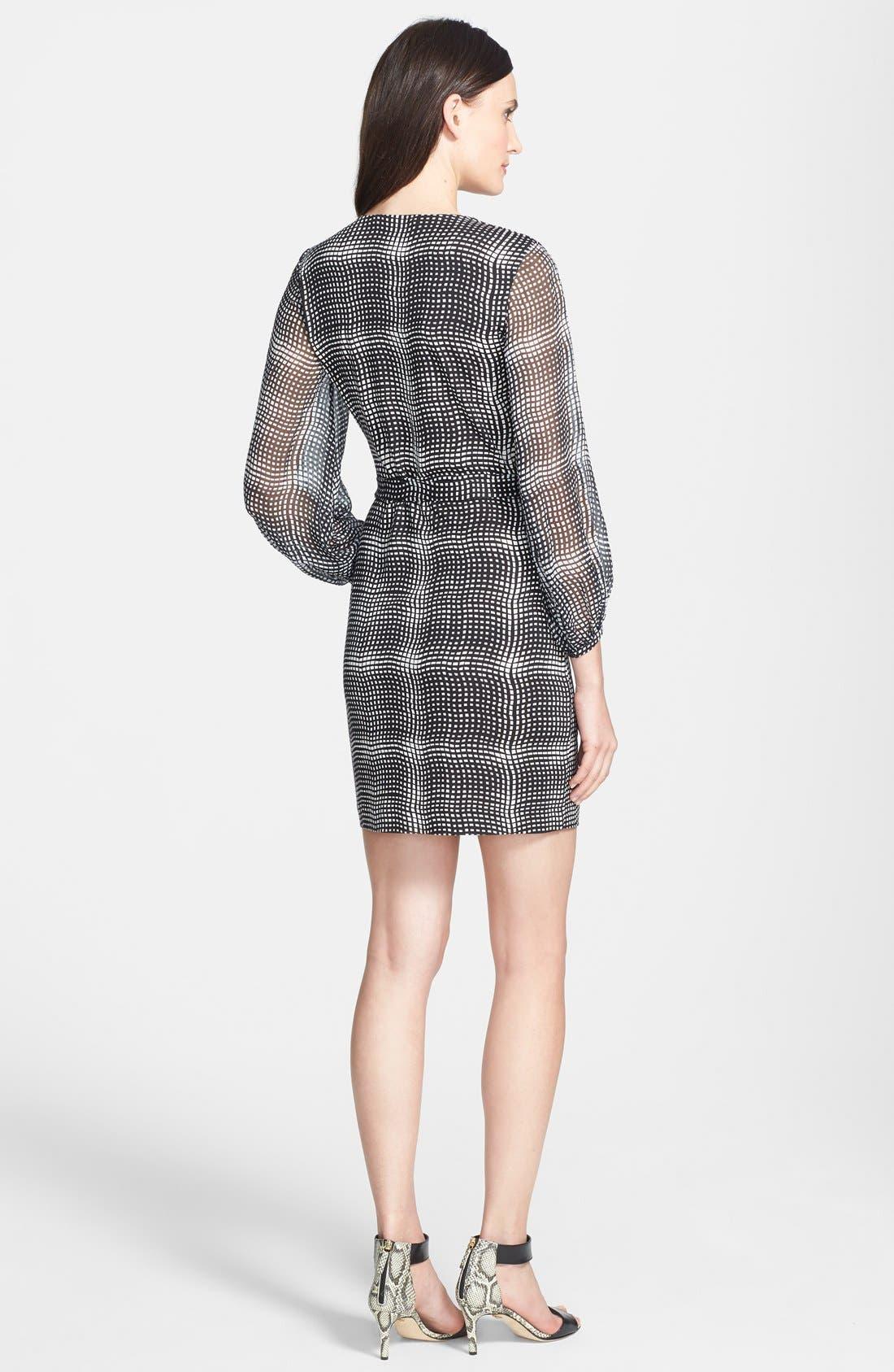 Alternate Image 2  - Diane von Furstenberg 'Sigourney' Print Silk Wrap Dress
