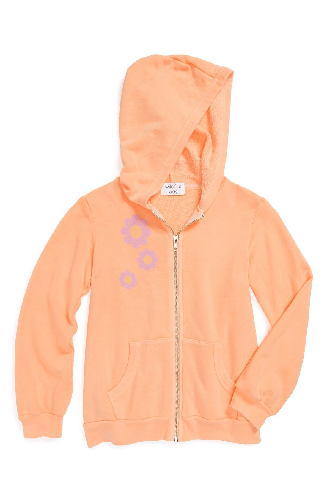 Alternate Image 2  - Wildfox 'Flower Girl' Hoodie (Big Girls)