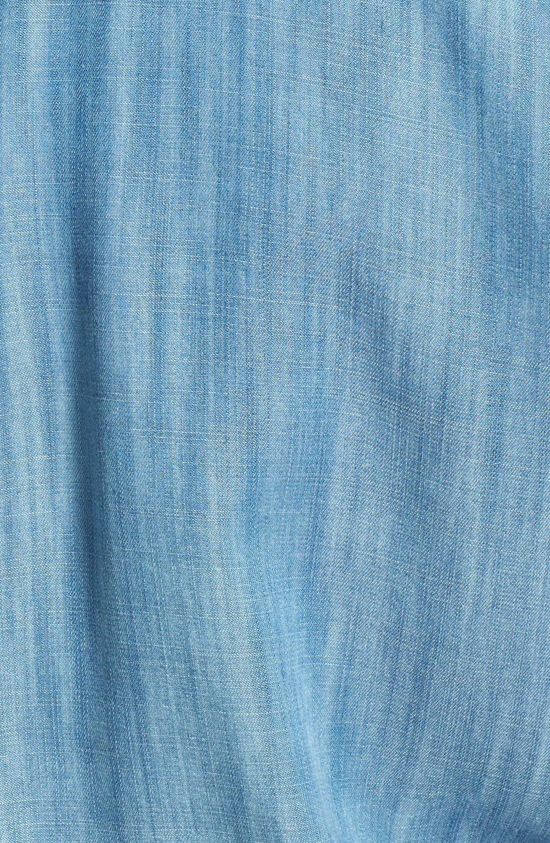 Alternate Image 3  - Hinge® Long Sleeve Chambray Romper
