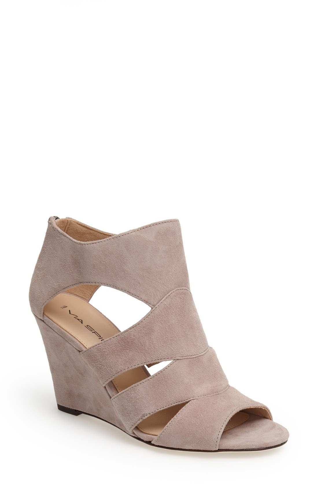 Main Image - Via Spiga 'Fion' Wedge Sandal (Women)