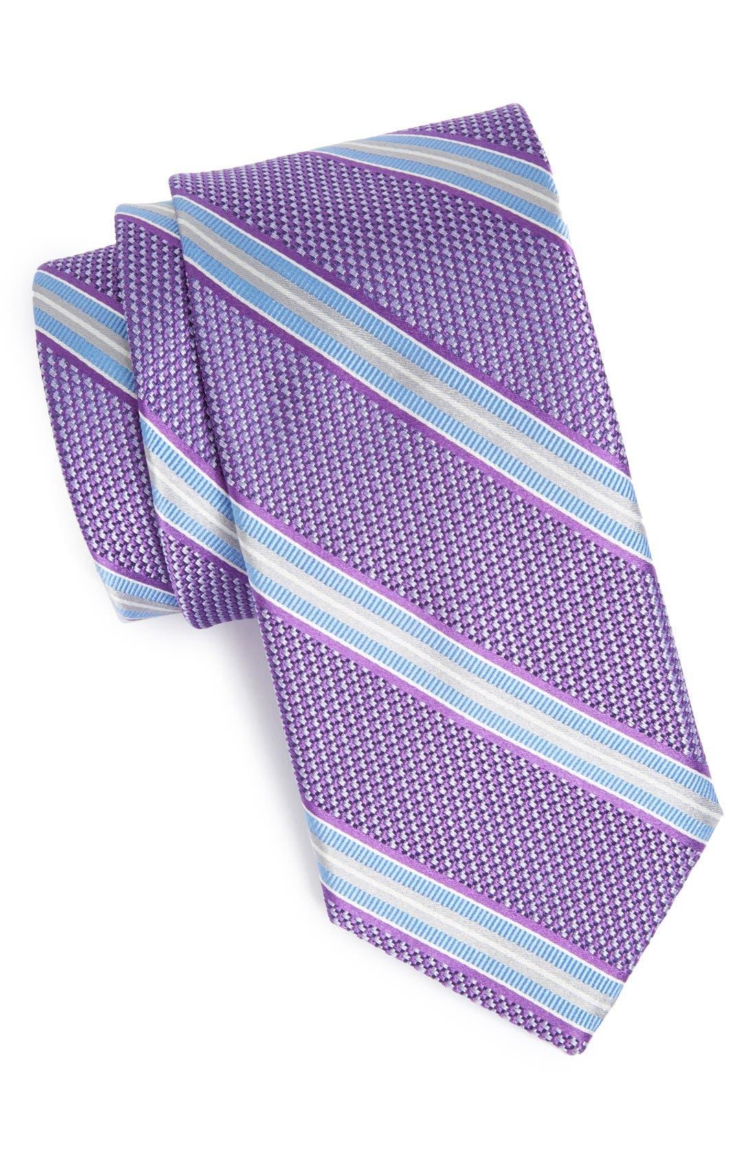 Main Image - John W. Nordstrom® 'Robinson' Woven Silk Tie