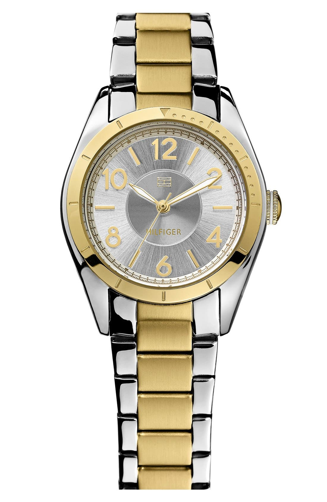 Main Image - Tommy Hilfiger Round Bracelet Watch, 30mm
