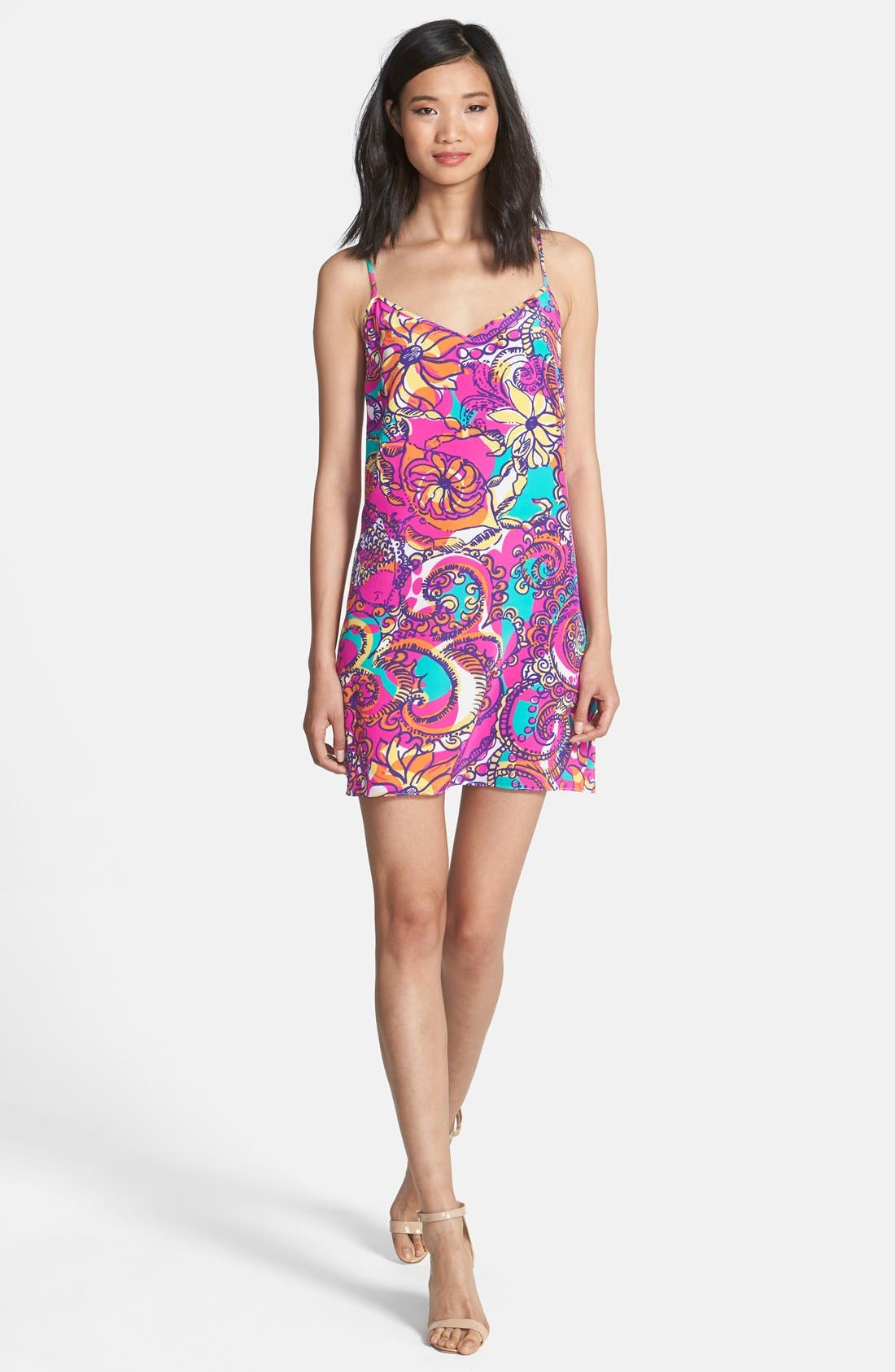 Alternate Image 3  - Lilly Pulitzer® 'Dusk' Print Silk Slipdress