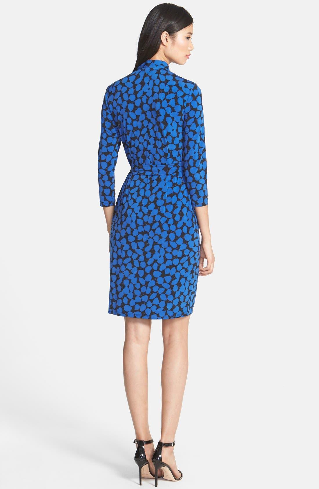 Alternate Image 2  - Maggy London Print Jersey Wrap Dress