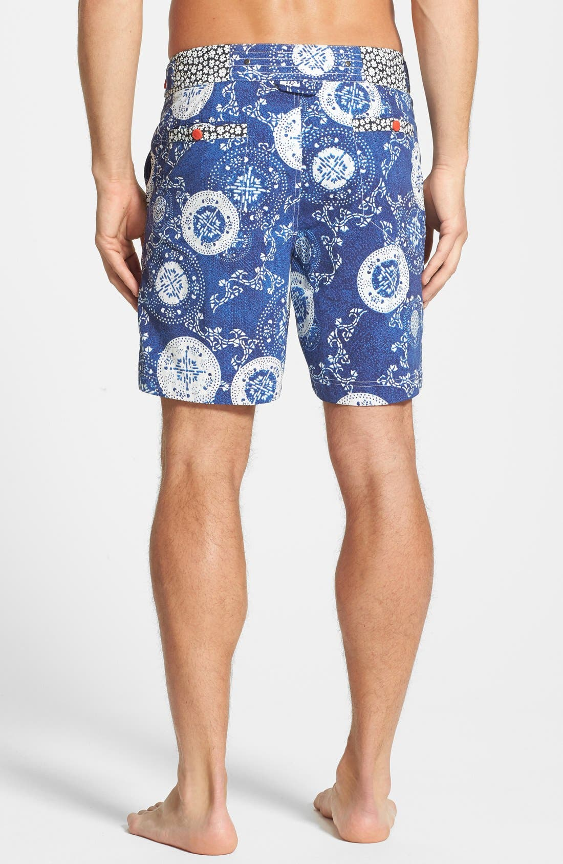 Alternate Image 2  - Robert Graham 'Parrot' Print Board Shorts