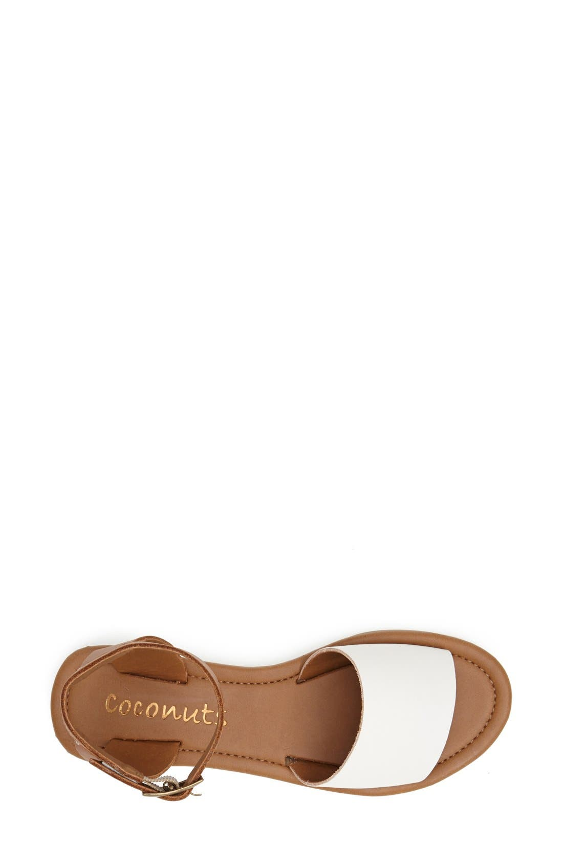 Alternate Image 3  - Coconuts by Matisse 'All About' Leather Ankle Strap Sandal