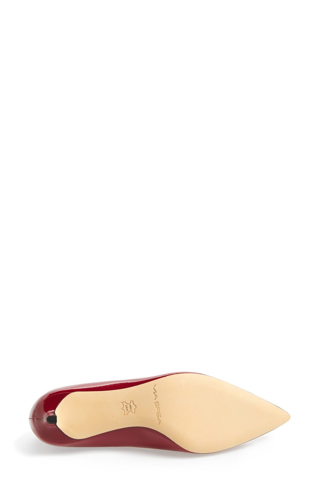 Alternate Image 3  - Via Spiga 'Hue' Pointy Toe Pump (Women)