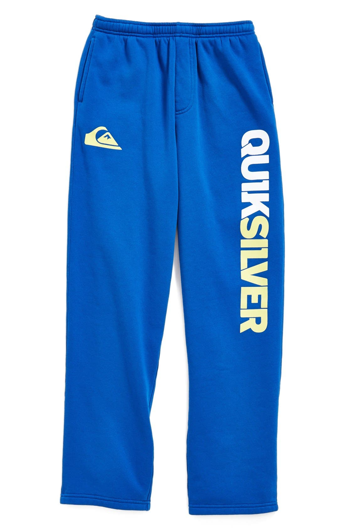 Main Image - Quiksilver 'Mountain Wave' Fleece Pants (Toddler Boys & Little Boys) (Online Only)