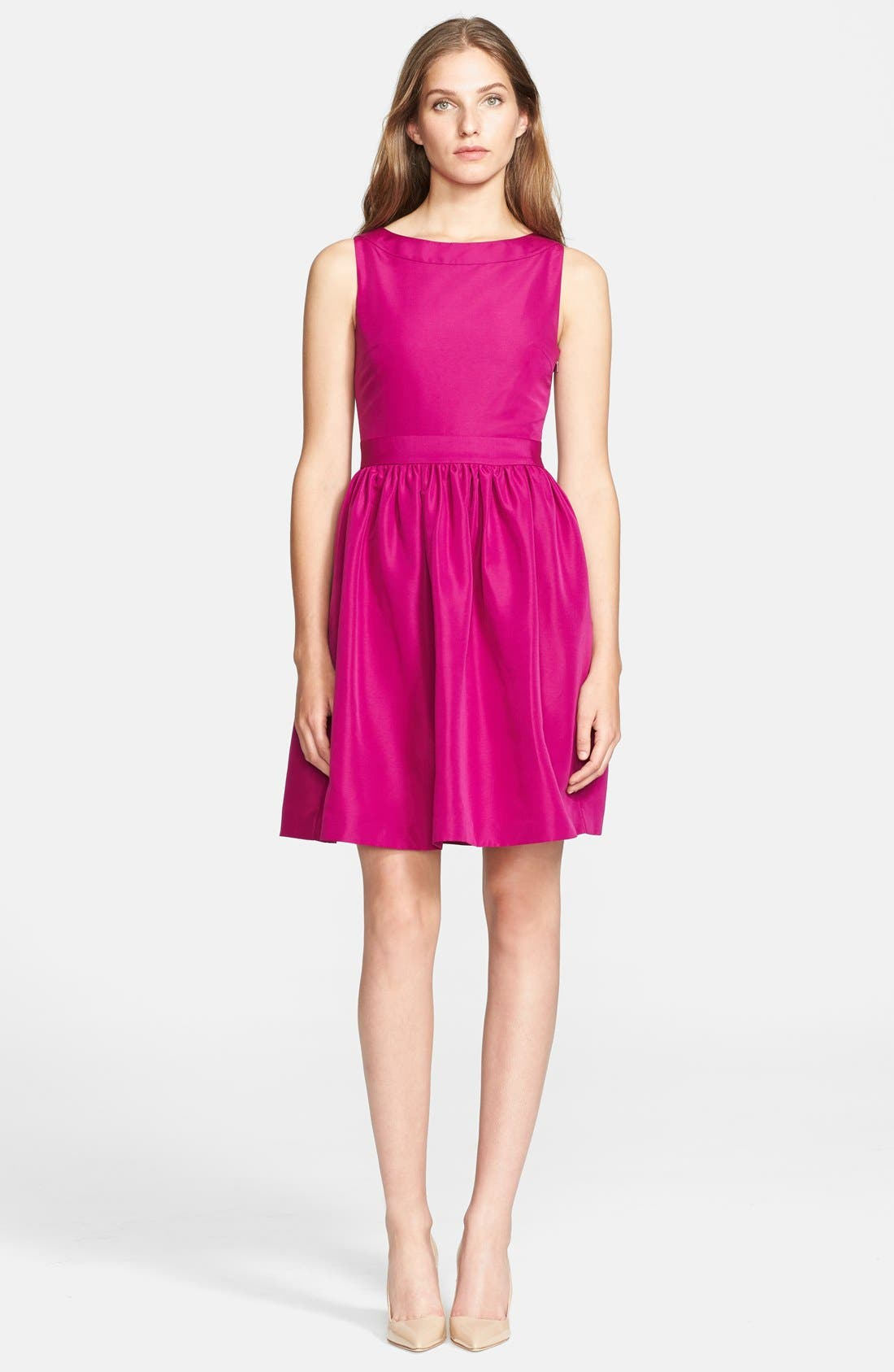 Main Image - Ted Baker London 'Juletee' Stretch Woven Fit & Flare Dress