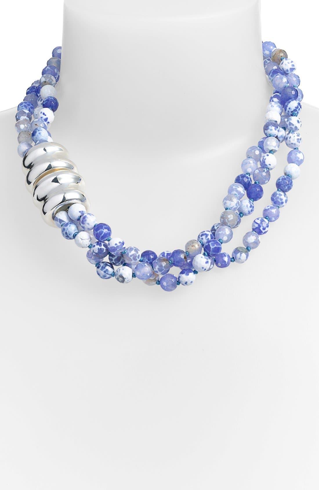 Alternate Image 1 Selected - Simon Sebbag Beaded Torsade Necklace