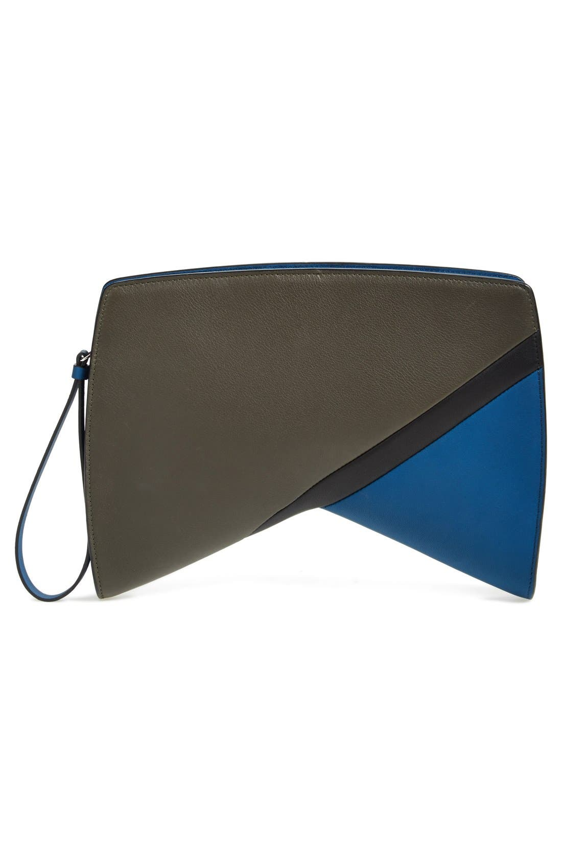 Alternate Image 4  - Narciso Rodriguez 'Boomerang' Leather Clutch
