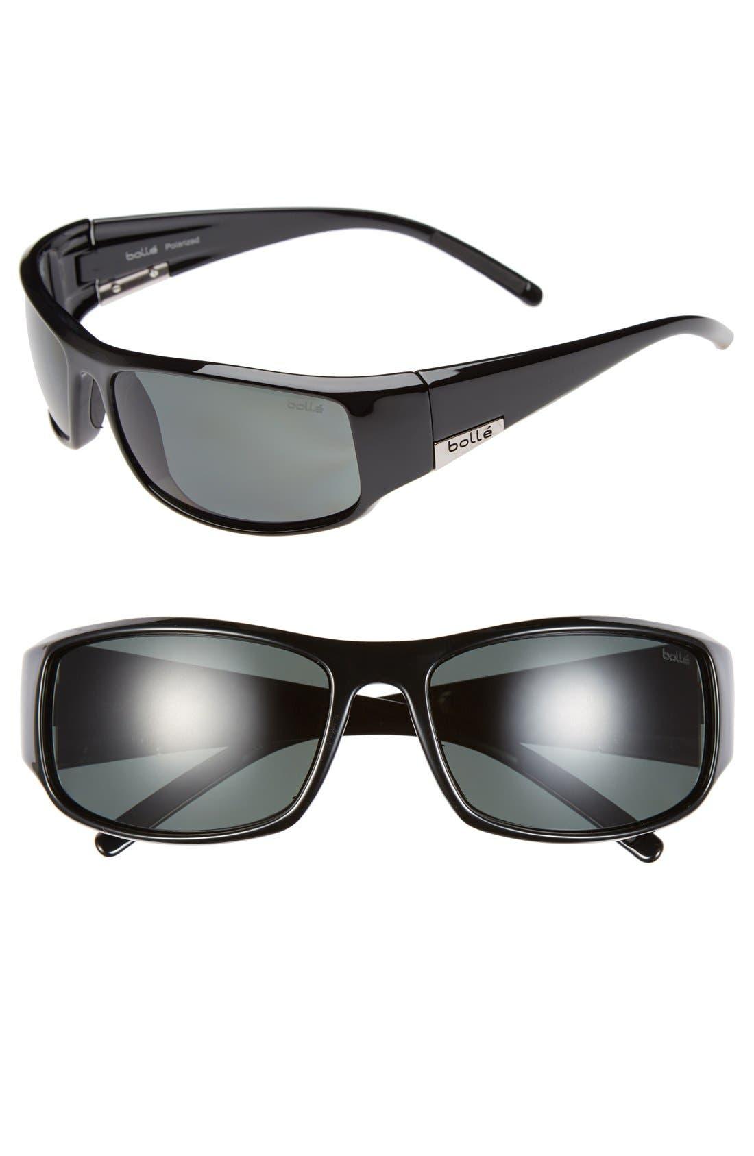 Main Image - Bolle 'King' 65mm Polarized Sport Sunglasses