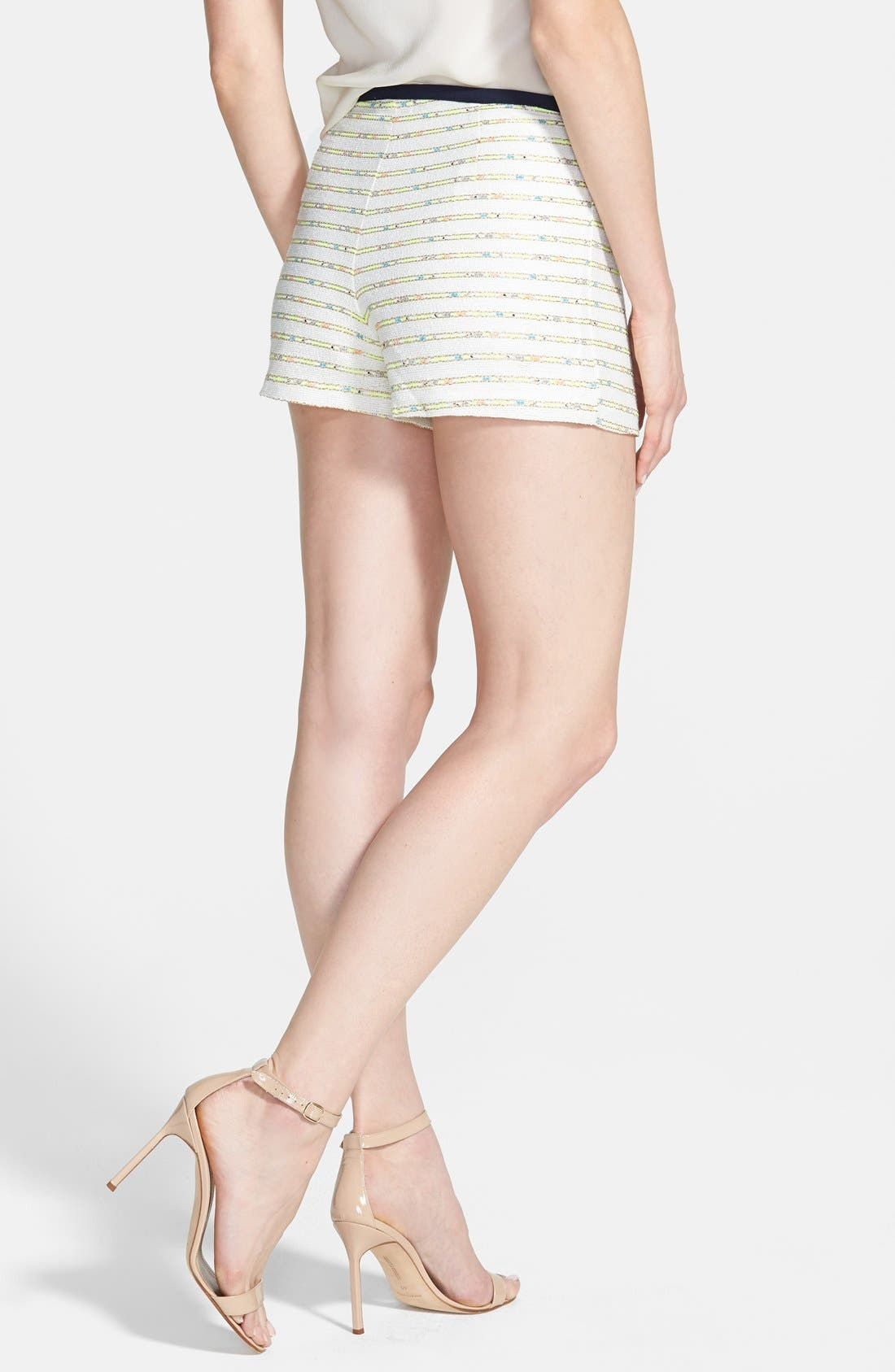 Alternate Image 2  - Nikki Rich 'Coronado Ivory' Jacquard Shorts