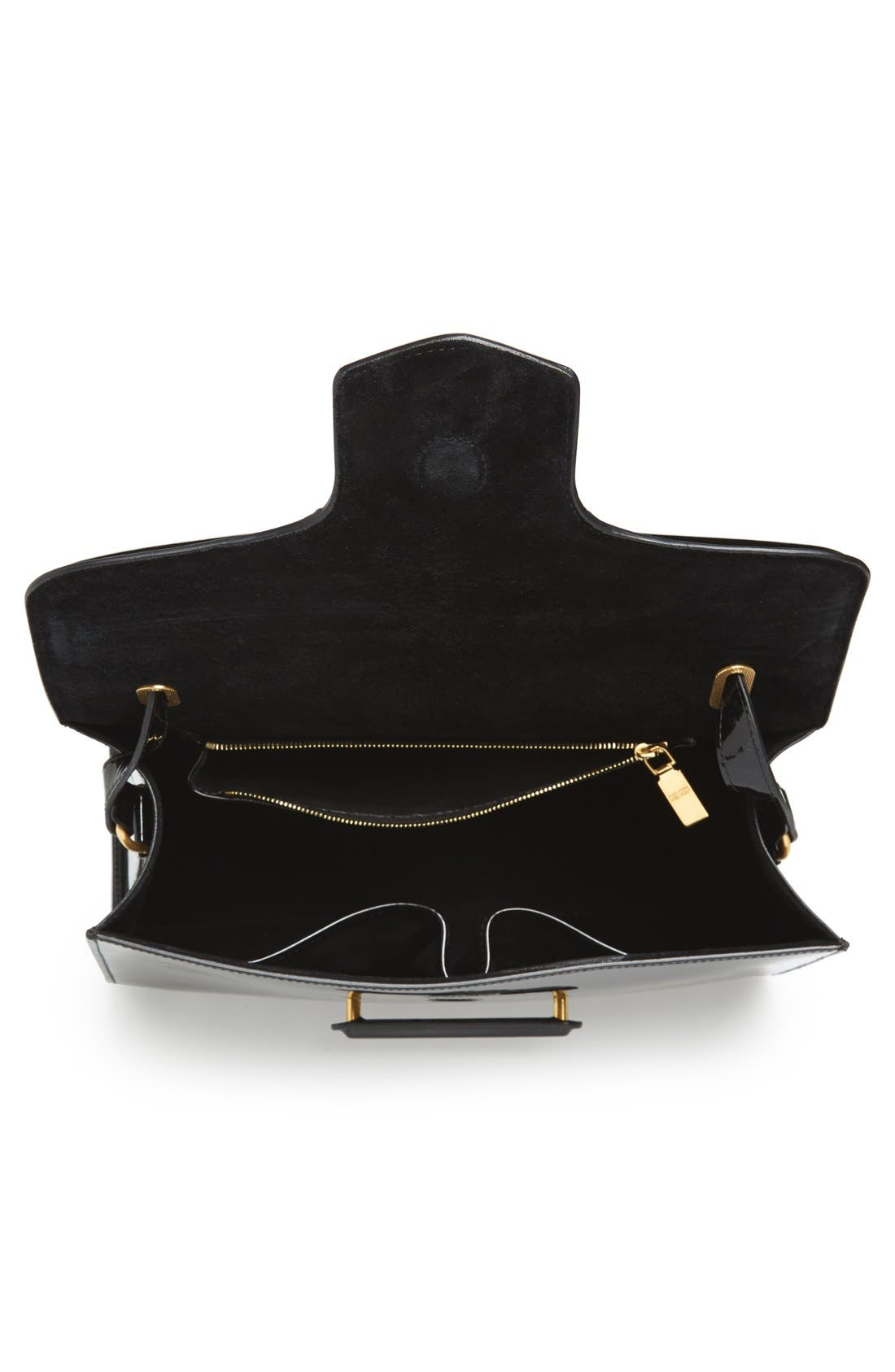 Alternate Image 3  - Alexander McQueen 'Heroine' Patent Leather Shoulder Bag