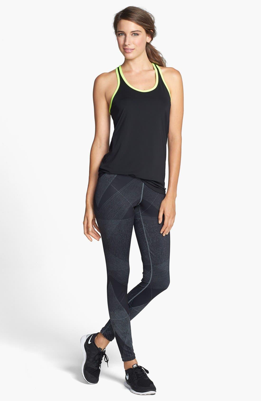 Alternate Image 3  - Nike 'Fast Track' Dri-FIT Print Leggings