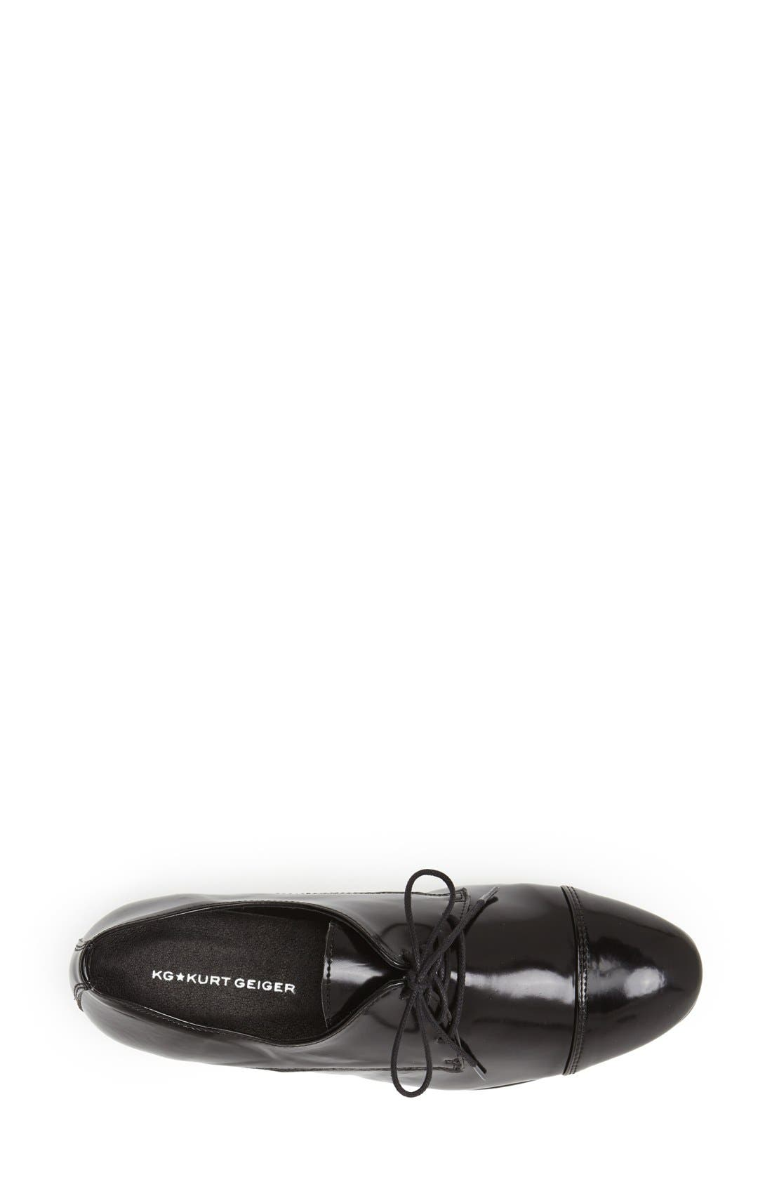Alternate Image 3  - KG Kurt Geiger 'Lennox' Patent Oxford (Women)