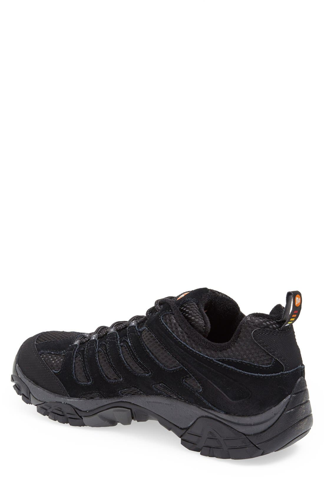 Alternate Image 2  - Merrell 'Moab Ventilator' Hiking Shoe (Men)