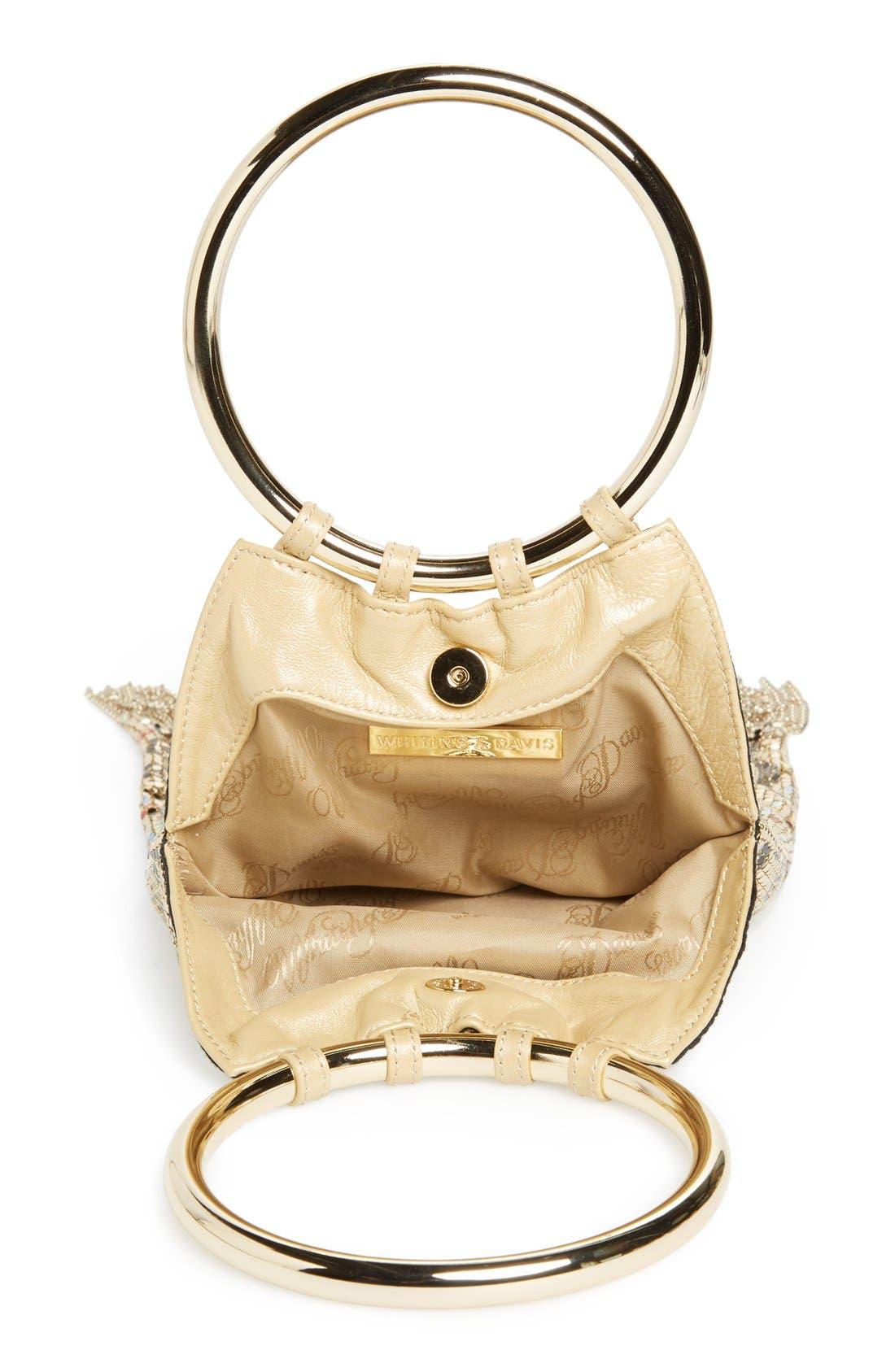 Alternate Image 3  - Whiting & Davis 'Vienna' Metal Mesh Handbag