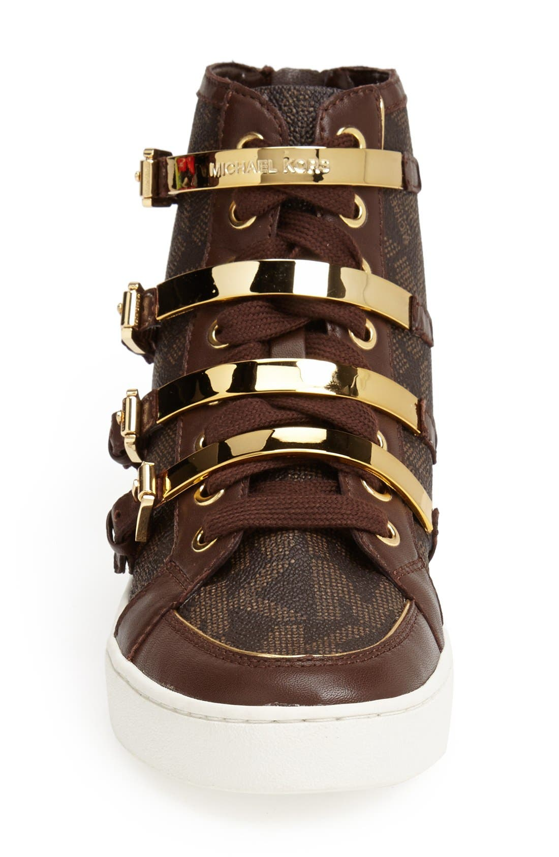 Alternate Image 3  - MICHAEL Michael Kors 'Kimberly' High Top Sneaker (Women)