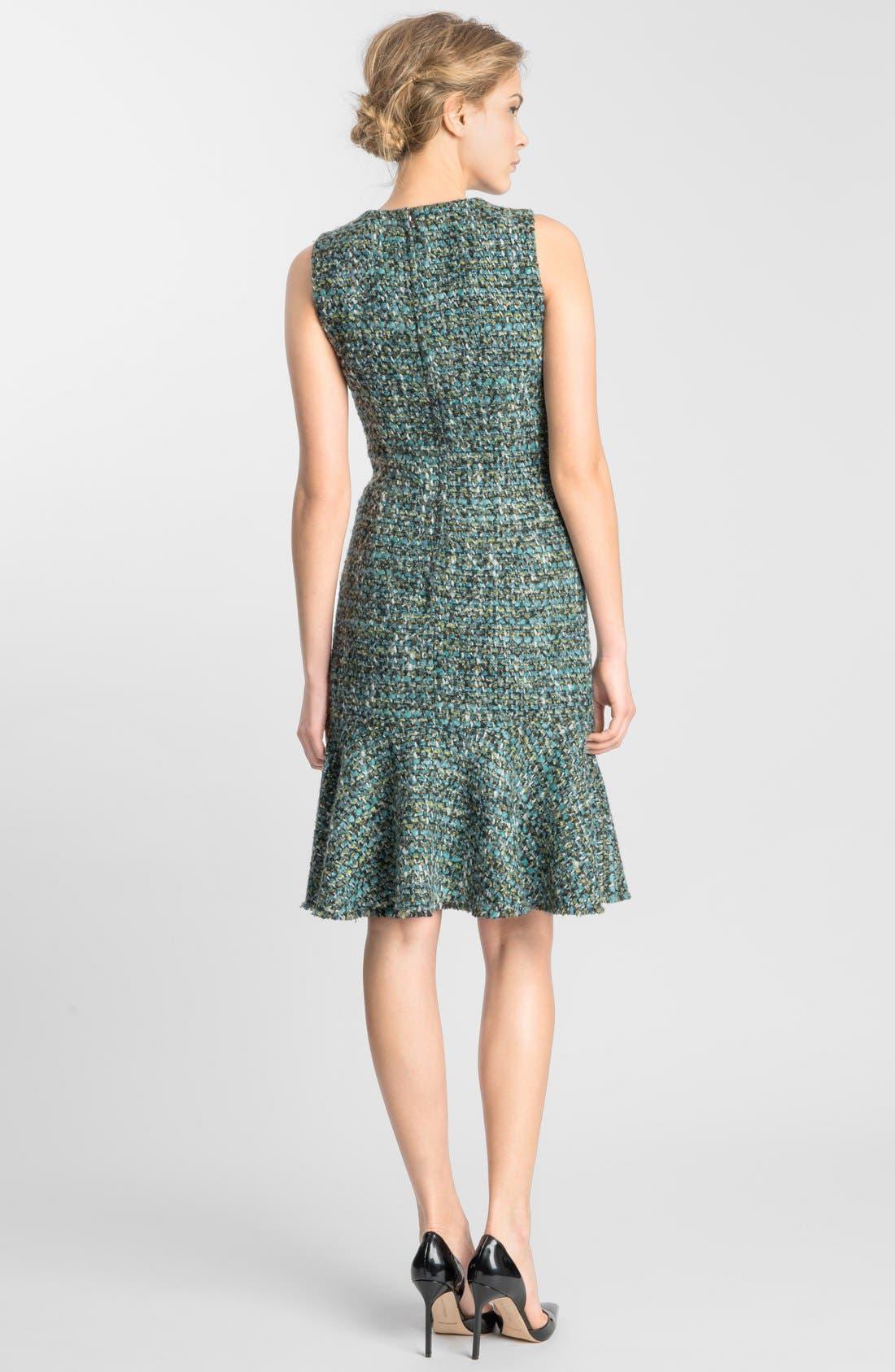 Alternate Image 2  - Dolce&Gabbana Flared Tweed Dress