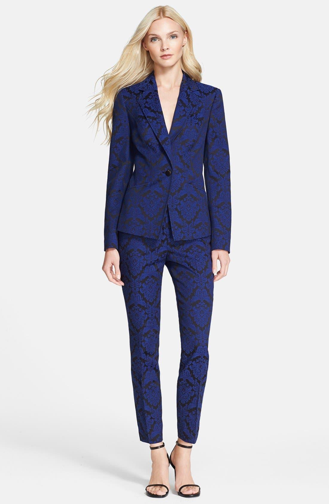 Alternate Image 4  - Ted Baker London 'Iryst' Jacquard Suit Trousers