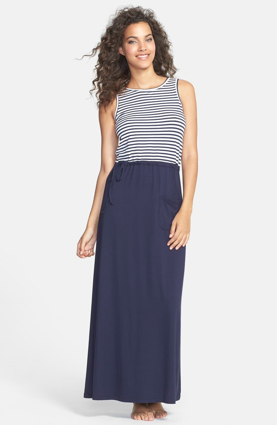 Alternate Image 1 Selected - Mott 50 'Eleanor' Maxi Dress (UPF 50)