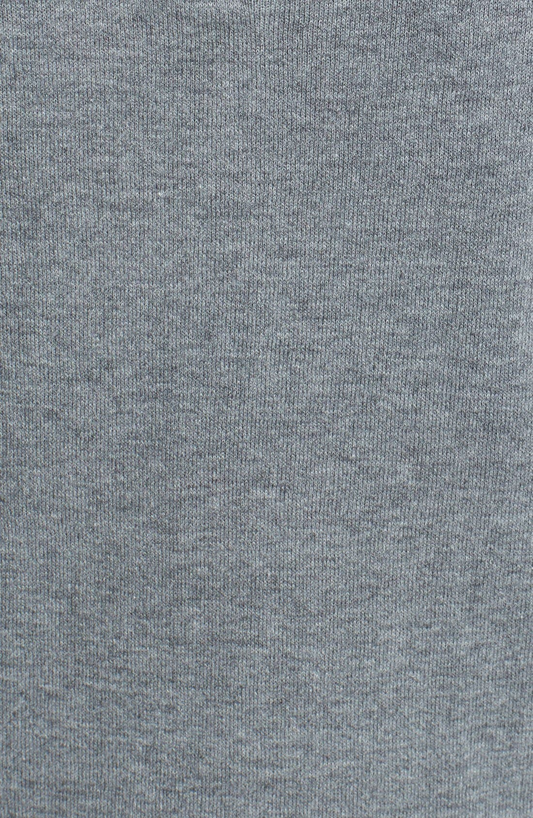 Alternate Image 3  - Halogen® 'Non' Zip Back Crewneck Sweater (Regular & Petite)