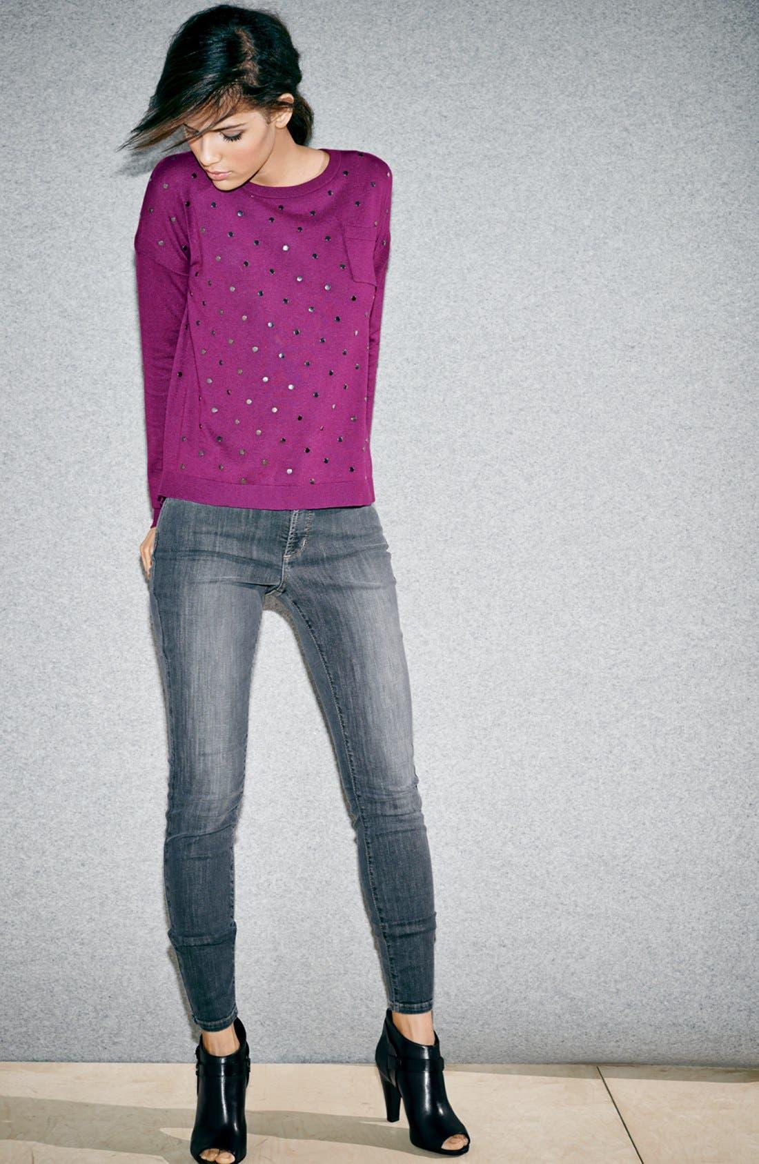 Alternate Image 7  - NYDJ 'Ami' Stretch Skinny Jeans (Dakota) (Regular & Petite)