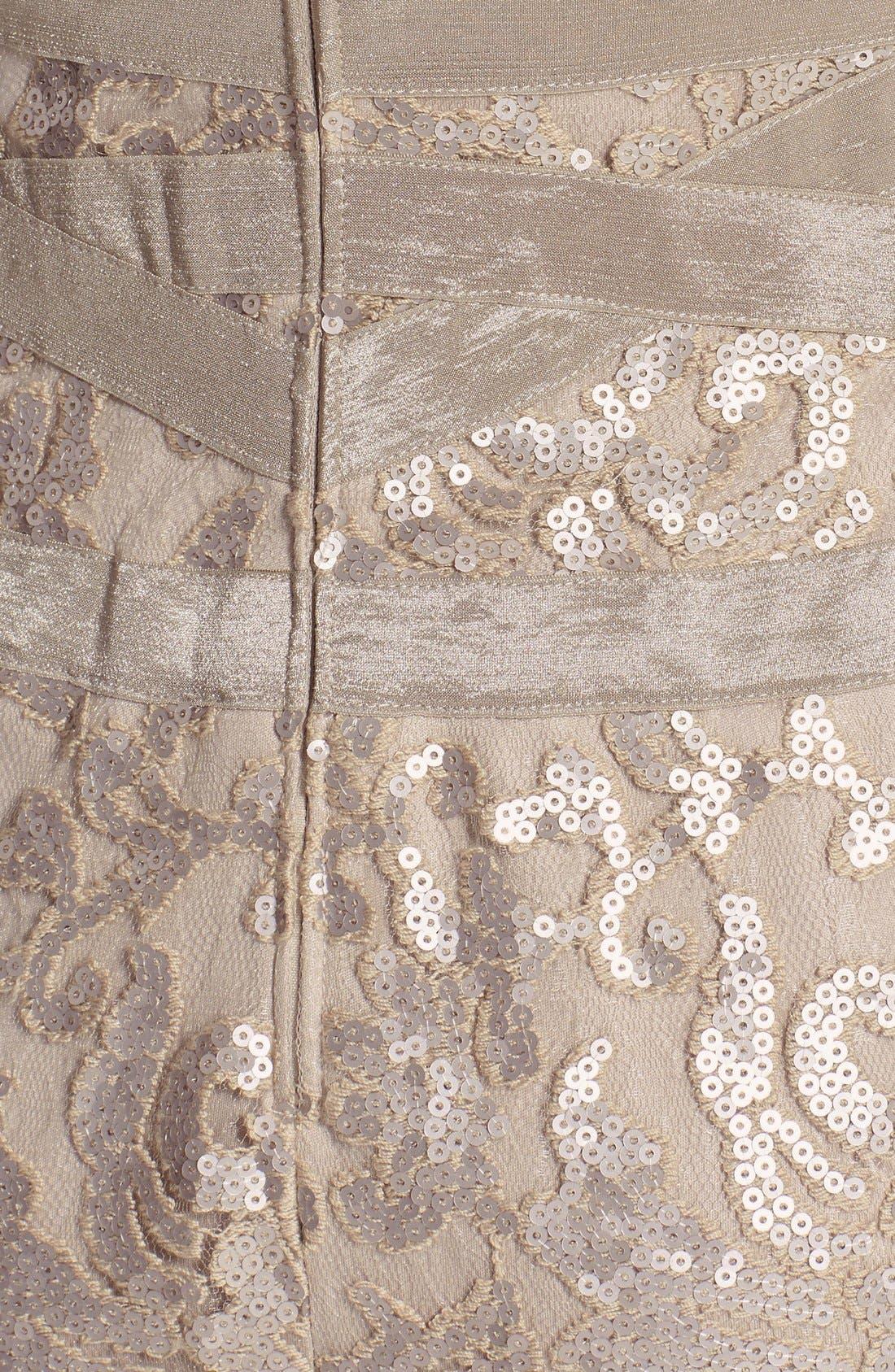 Alternate Image 4  - Tadashi Shoji Sequin Embellished Sheath Dress