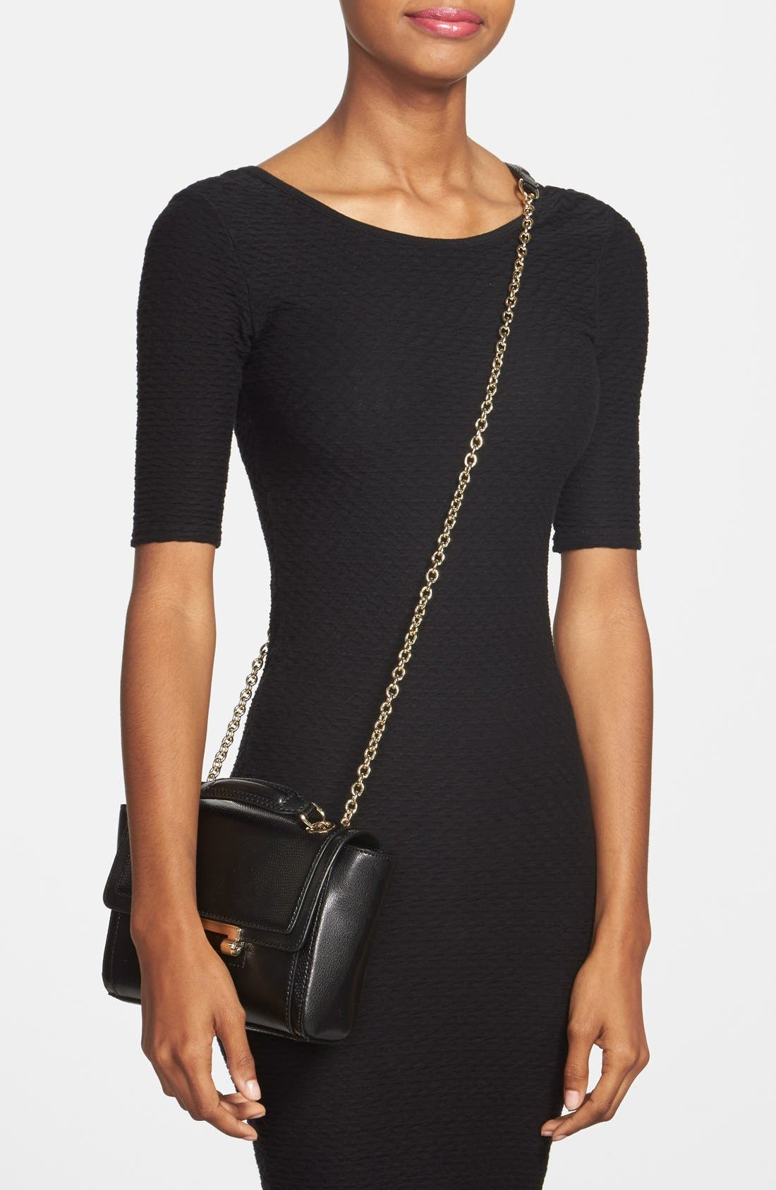 Alternate Image 2  - Diane von Furstenberg 'Mini 440' Leather Crossbody Bag