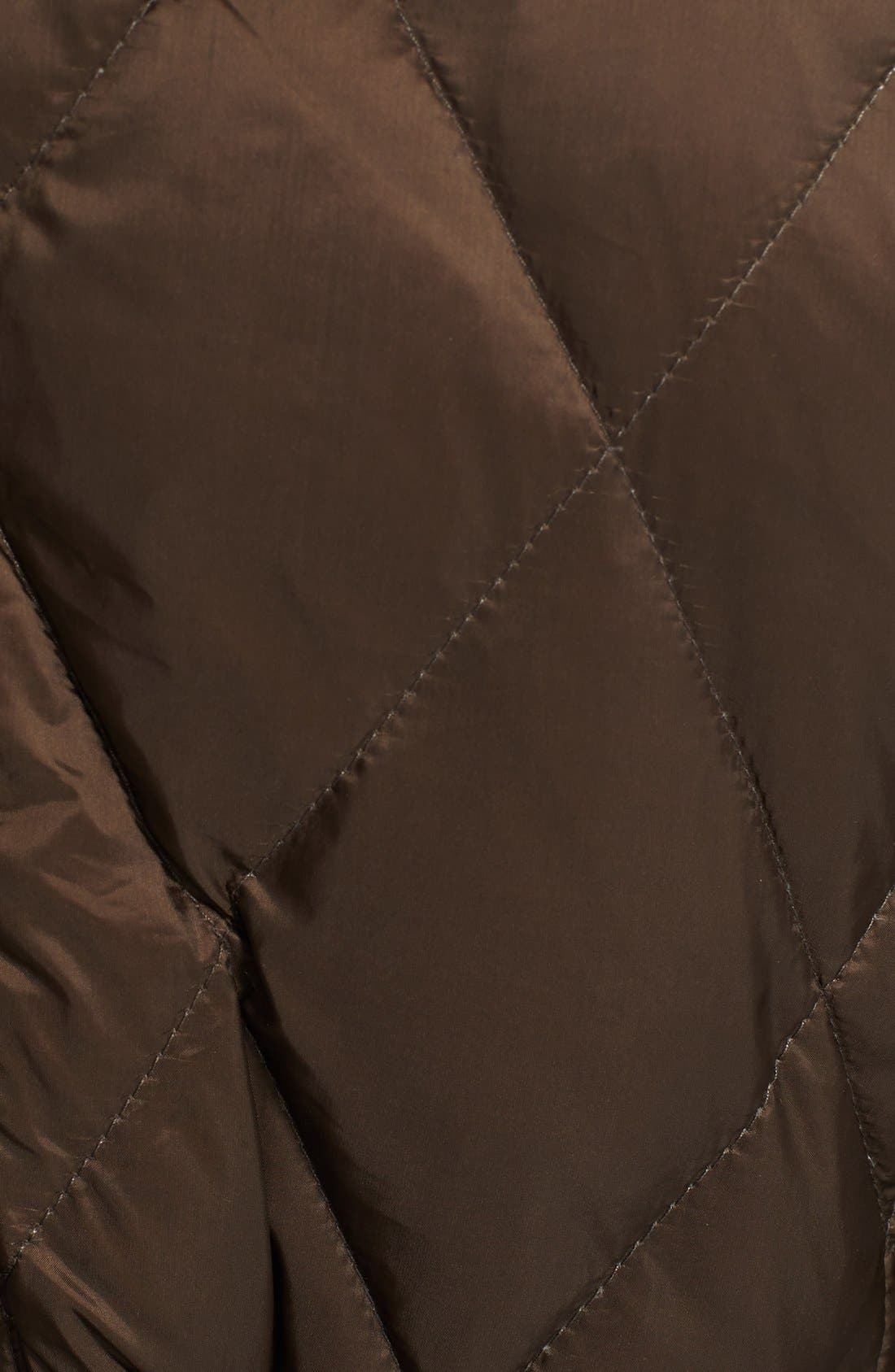 Alternate Image 3  - Burberry Brit 'Natesdale' Hooded Quilted Jacket with Genuine Fox Fur Trim