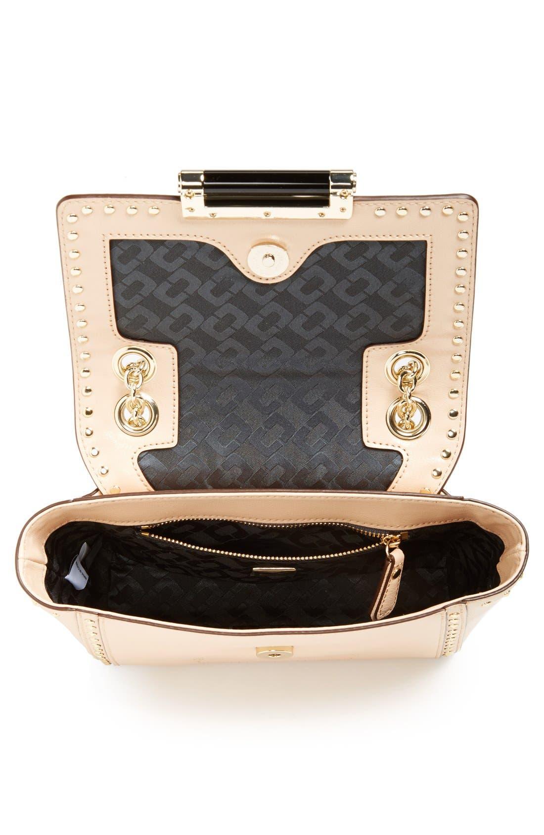 Alternate Image 3  - Diane von Furstenberg 'Mini 440' Stud Leather Crossbody Bag